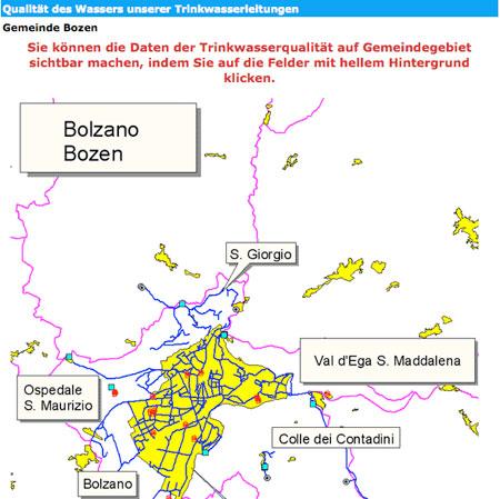 Homepage des Landes.
