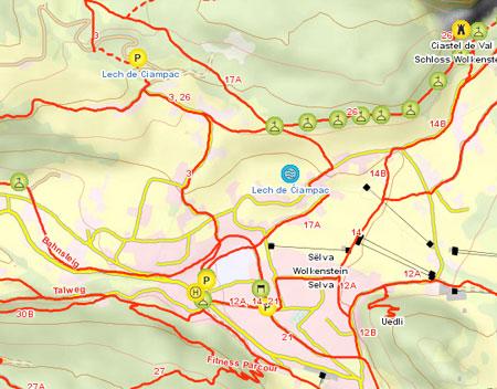 Trekking Südtirol.