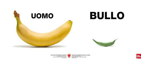 Toscani Sensibilisierungskampagne.