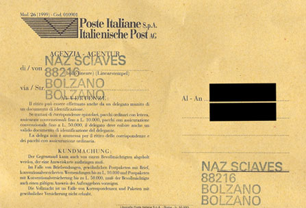 Post-Karte.