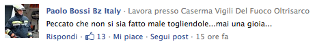 Facebook Paolo Bossi.
