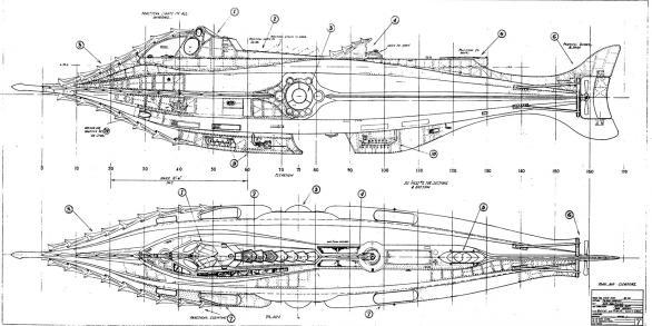 Jules Vernes' Nautilus (Quelle: cloudster.com)