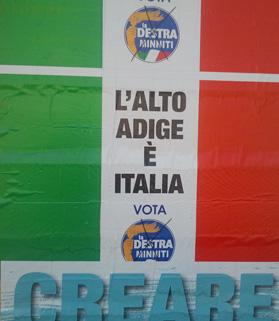 Plakat La Destra.