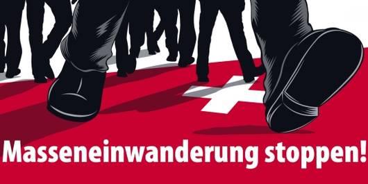 Keine Masseneinwanderung in die Schweiz