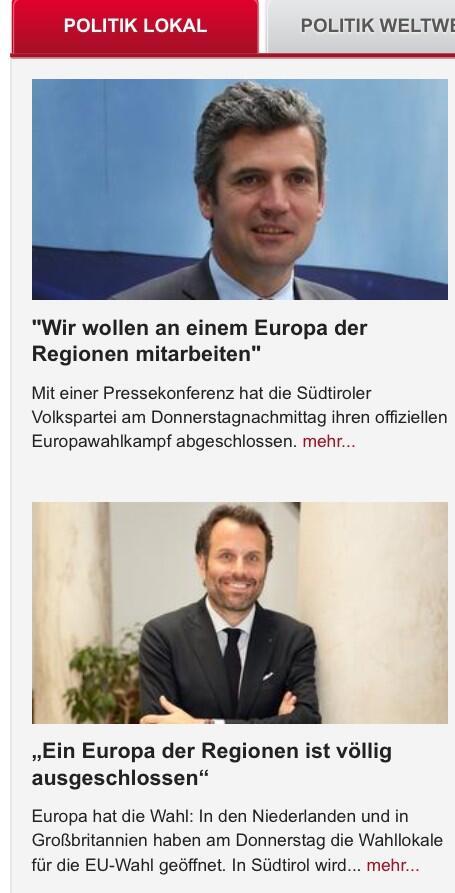 Kampf der »Realisten«.