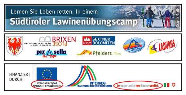 Werbung Lawinencamp.