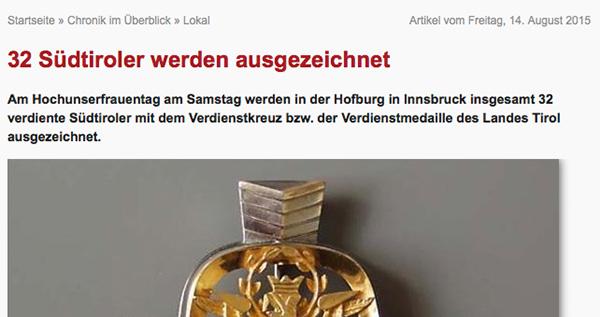 Südtirol Online.