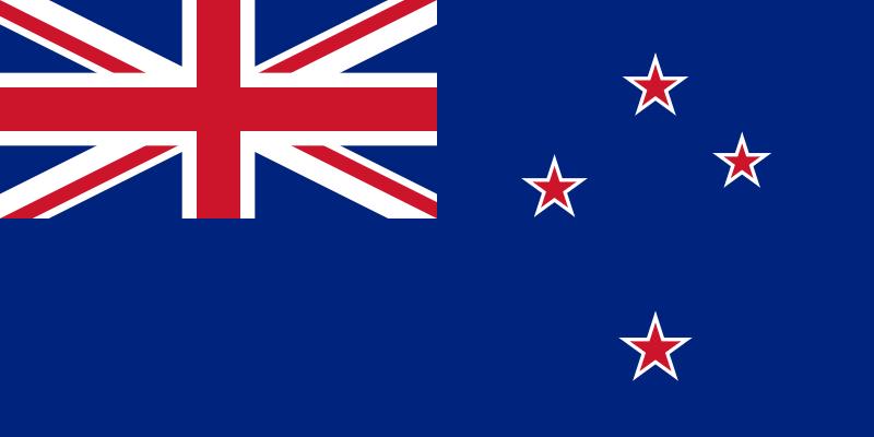 Neuseeländische Flagge.