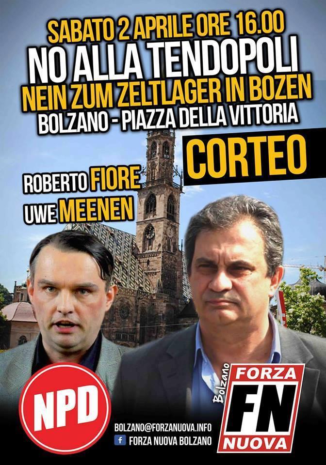 NPD/FN in Bozen.