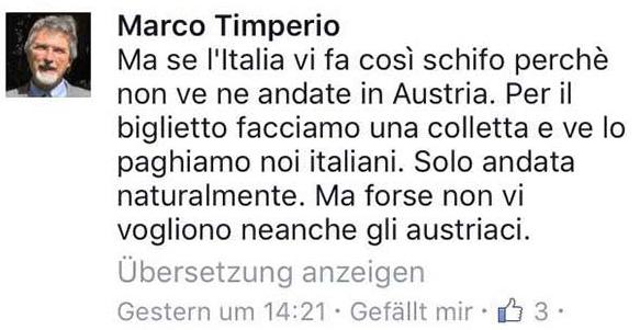 Marco Timperio: FB.