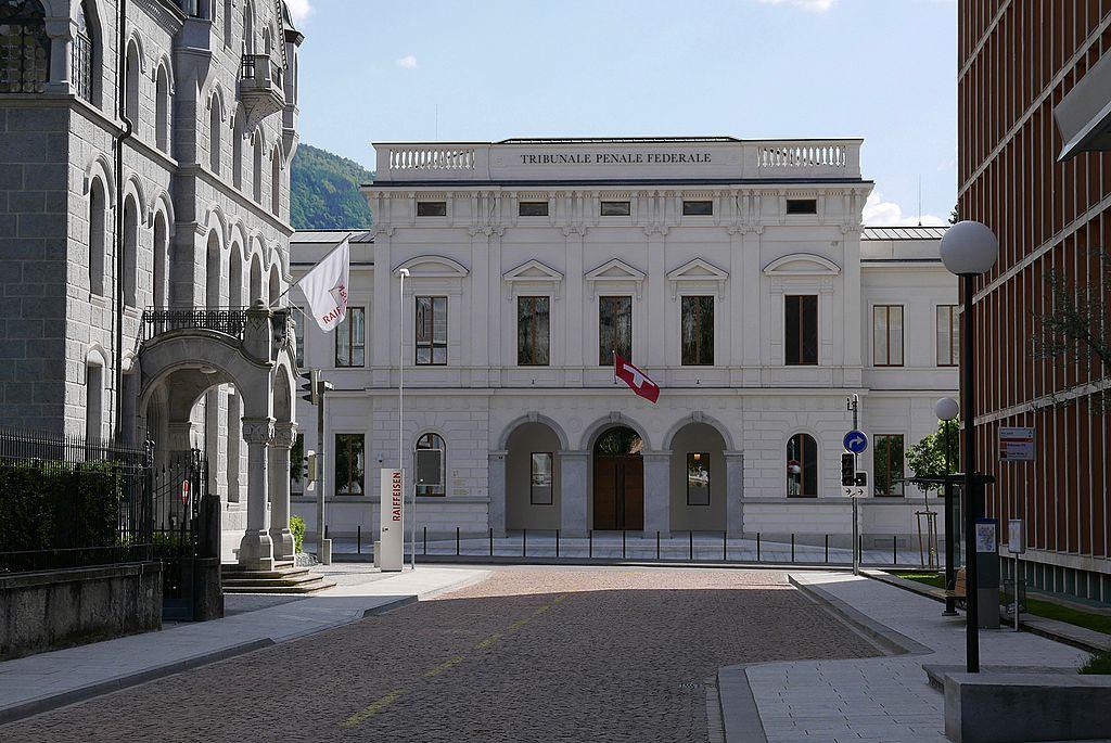Das Schweizer Bundesstrafgericht (seit 2004 in Bellinzona).