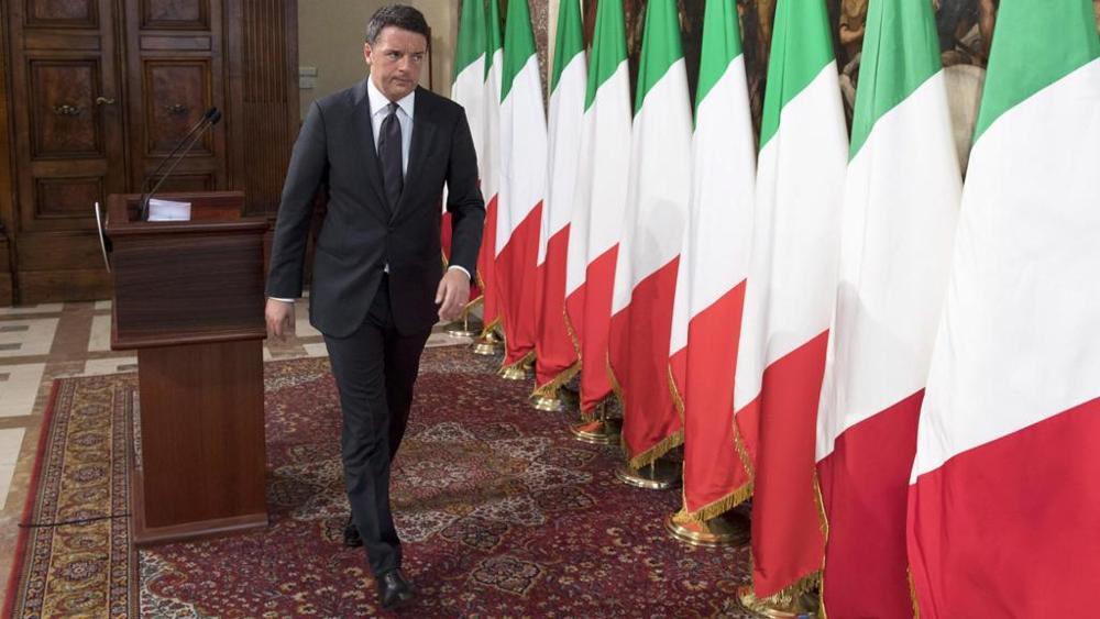 Renzi - Flaggen.