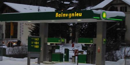 BP Tankstelle.