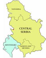 Serbien und Montenegro.